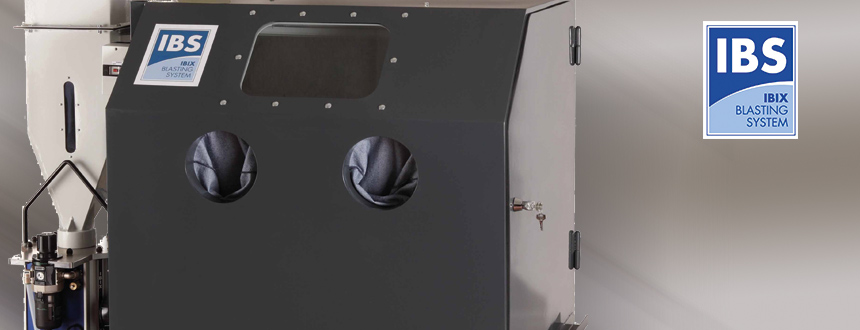 Zandstraalcabine IBS 150