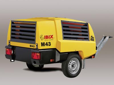 Motor-driven compressor Mobilair M50