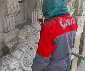 Nettoyage marbres et granits