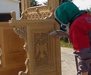 Reiniging van houten artefacten